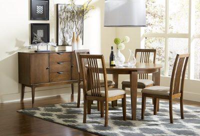 D106-10 Mid Mod Rectangular Table Dining Furniture
