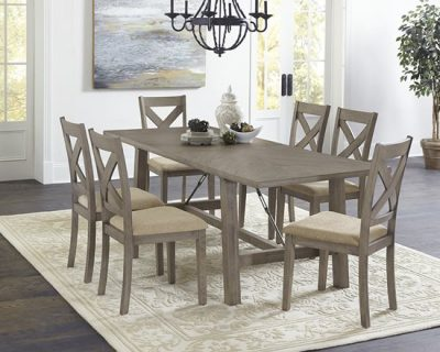 D853 Saxton Turnbuckle Brace Dining Furniture