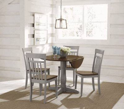 D877 Taylor Round Folding Table Dining Furniture